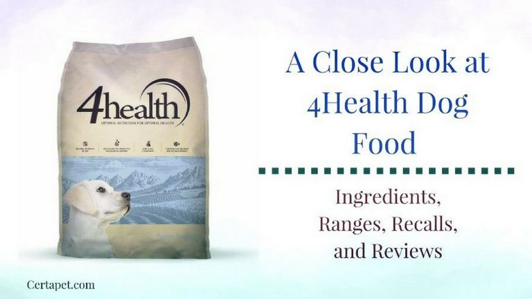 4health Dog Food Feeding Guide