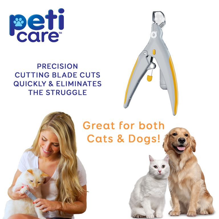 Dog Nail Clippers With Led Light