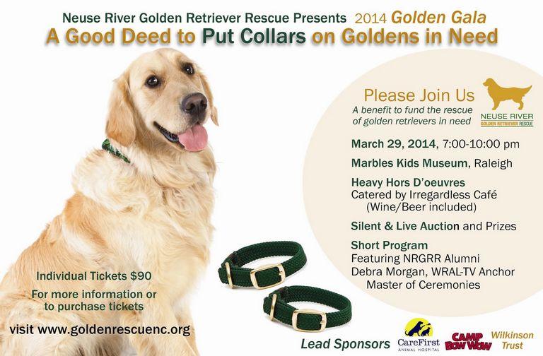 Neuse River Golden Retriever Rescue Location