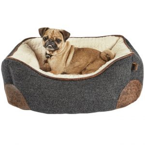 Top Paw Memory Foam Bolster Bed