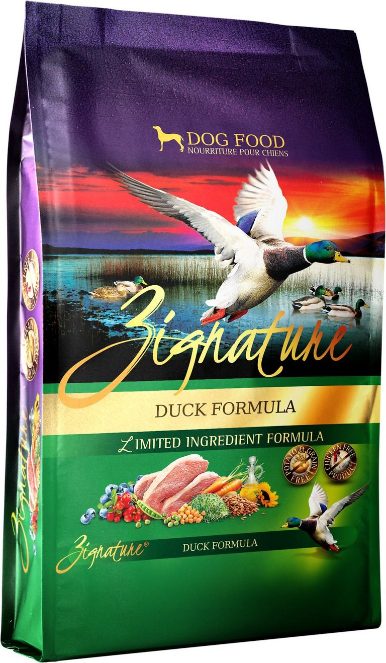 Zignature Duck Dog Food